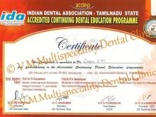 CDE certificates
